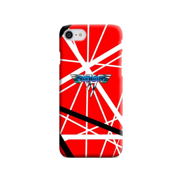 Eddie Van Halen Guitar iPhone 8 Case