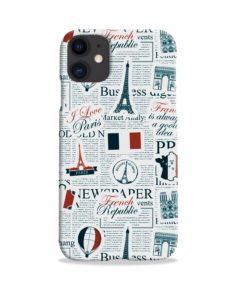 France Eiffel Tower Art for iPhone 11 Case