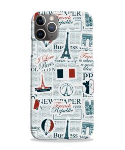 France Eiffel Tower Art for iPhone 11 Pro Max Case