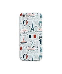 France Eiffel Tower Art for iPhone 5 Case