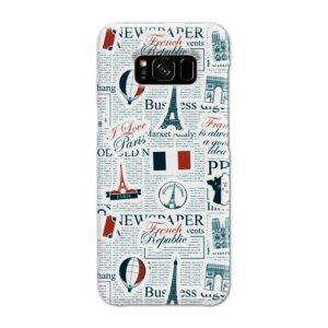 France Eiffel Tower Art for Samsung Galaxy S8 Case