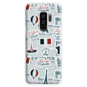 France Eiffel Tower Art for Samsung Galaxy S9 Plus Case Cover