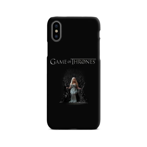 Game of Thrones Poster iPhone X / XS Case