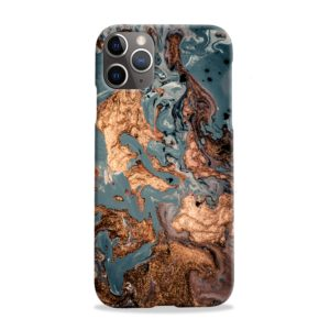 Golden Black Marble with Veins for iPhone 11 Pro Max Case
