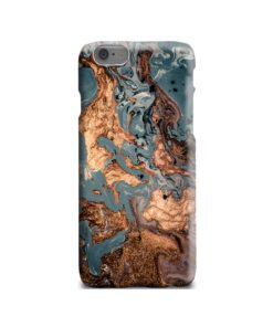 Golden Black Marble with Veins for iPhone 6 Case Cover