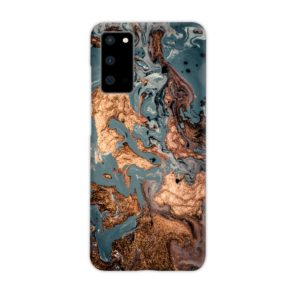 Golden Black Marble with Veins for Samsung Galaxy S20 Case