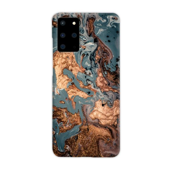 Golden Black Marble with Veins for Samsung Galaxy S20 Plus Case Cover