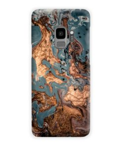 Golden Black Marble with Veins for Samsung Galaxy S9 Case