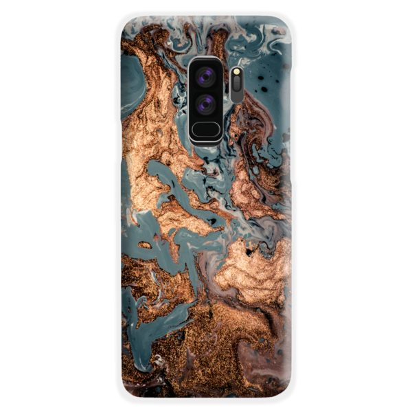 Golden Black Marble with Veins for Samsung Galaxy S9 Plus Case