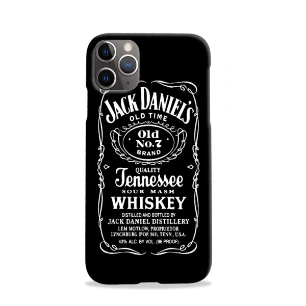 Jack Daniels Whiskey Logo iPhone 11 Pro Case