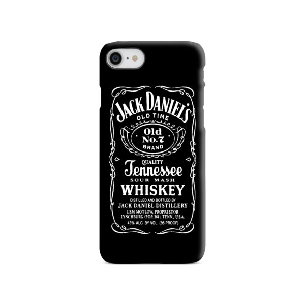 Jack Daniels Whiskey Logo iPhone 8 Case