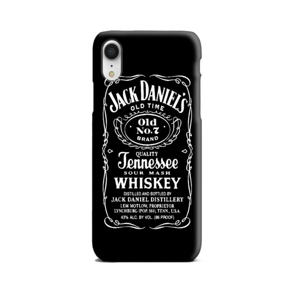 Jack Daniels Whiskey Logo iPhone XR Case