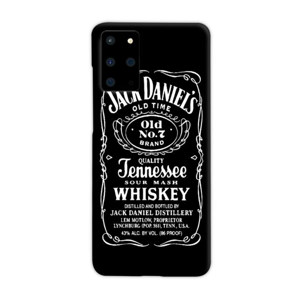 Jack Daniels Whiskey Logo Samsung Galaxy S20 Plus Case