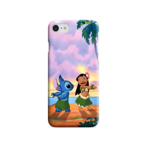 Lilo and Stitch Characters iPhone 8 Case