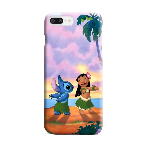 Lilo and Stitch Characters iPhone 8 Plus Case