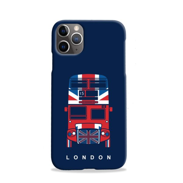 London Red Bus Art iPhone 11 Pro Case
