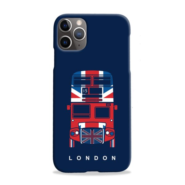 London Red Bus Art iPhone 11 Pro Max Case