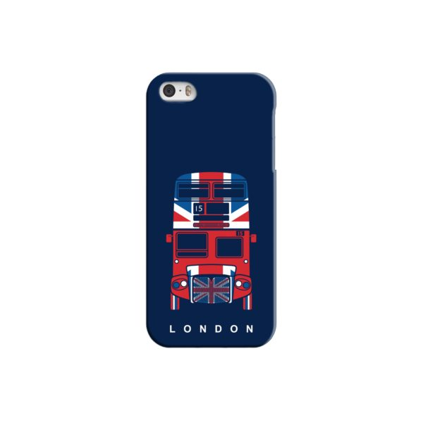 London Red Bus Art iPhone 5 Case