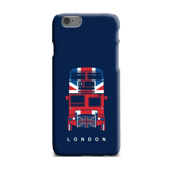 London Red Bus Art iPhone 6 Plus Case