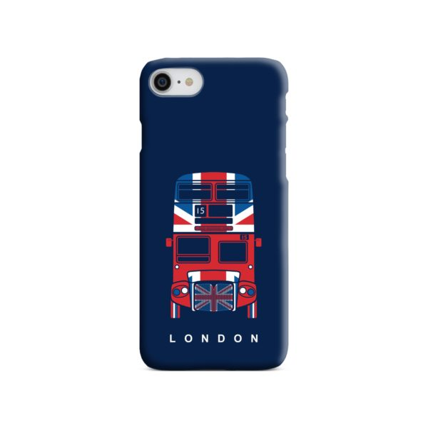 London Red Bus Art iPhone 8 Case