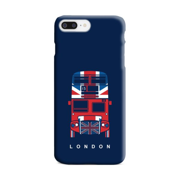London Red Bus Art iPhone 8 Plus Case