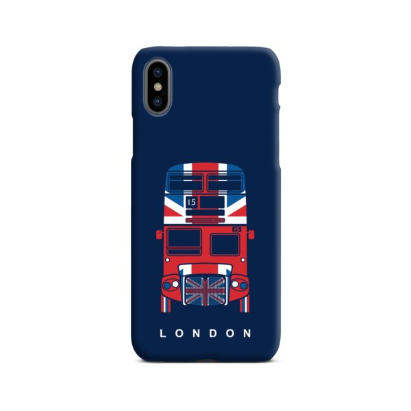 London Red Bus Art iPhone X / XS Case