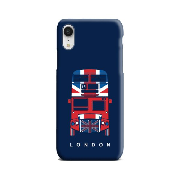 London Red Bus Art iPhone XR Case