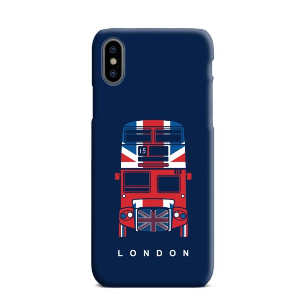 London Red Bus Art iPhone XS Max Case