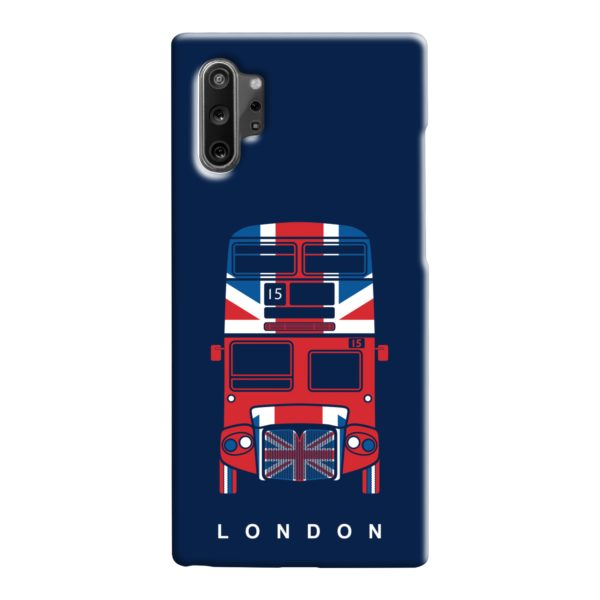 London Red Bus Art Samsung Galaxy Note 10 Case