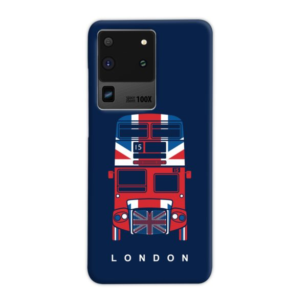 London Red Bus Art Samsung Galaxy S20 Ultra Case