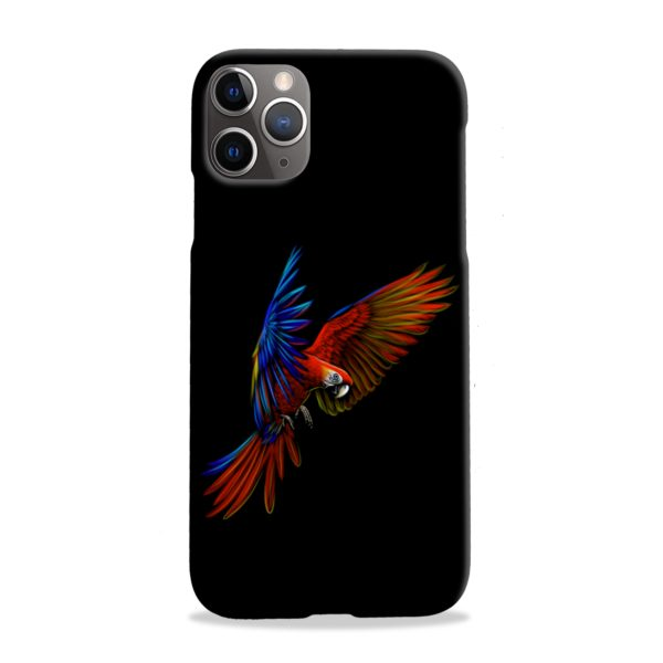 Macaw Parrot Flying iPhone 11 Pro Max Case