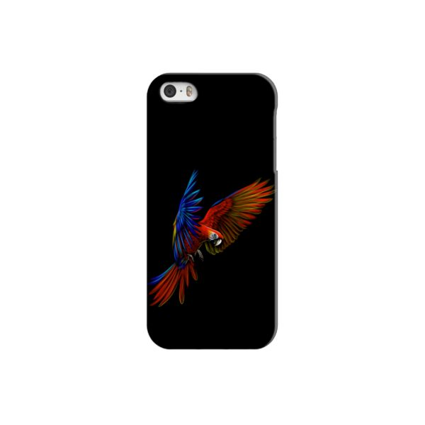 Macaw Parrot Flying iPhone 5 Case