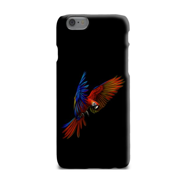 Macaw Parrot Flying iPhone 6 Plus Case