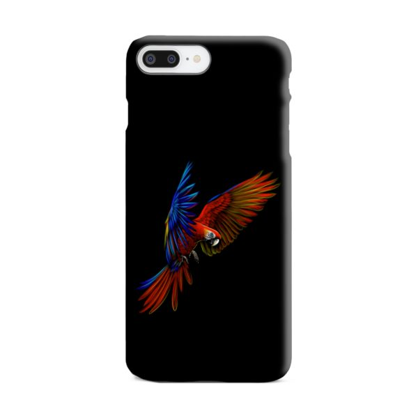Macaw Parrot Flying iPhone 8 Plus Case