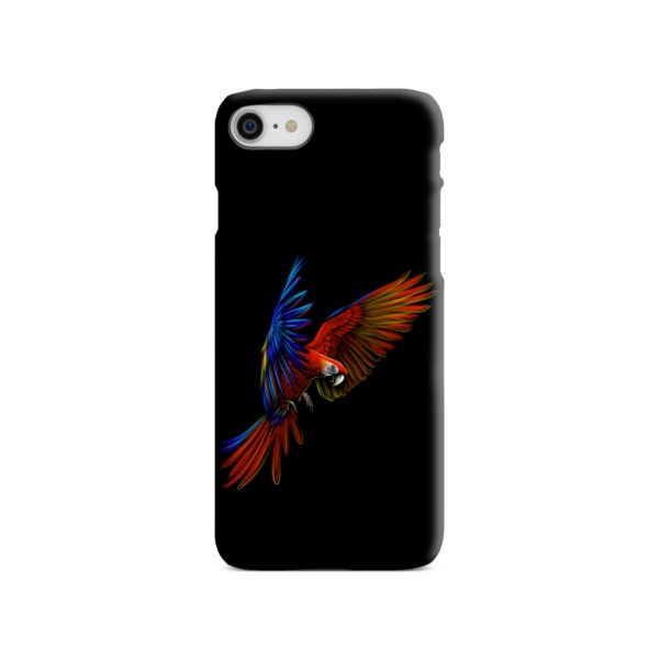 Macaw Parrot Flying iPhone SE (2020) Case