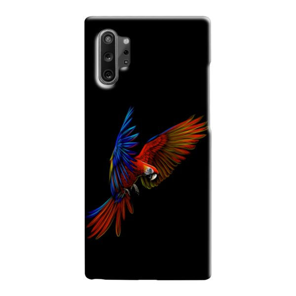 Macaw Parrot Flying Samsung Galaxy Note 10 Case