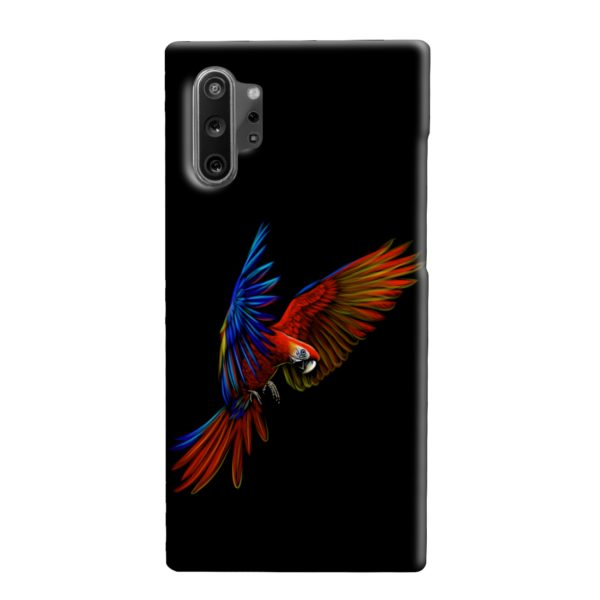 Macaw Parrot Flying Samsung Galaxy Note 10 Plus Case