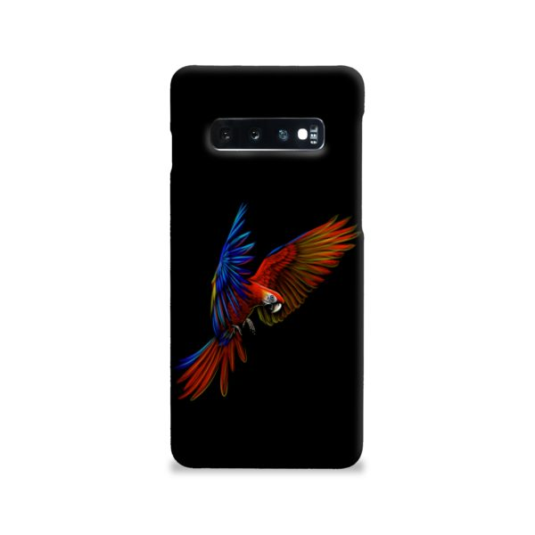 Macaw Parrot Flying Samsung Galaxy S10 Case