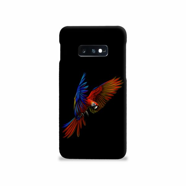 Macaw Parrot Flying Samsung Galaxy S10e Case