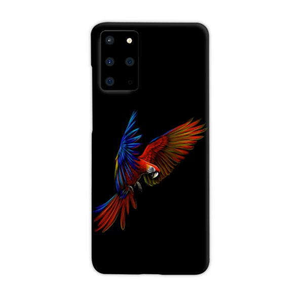 Macaw Parrot Flying Samsung Galaxy S20 Plus Case