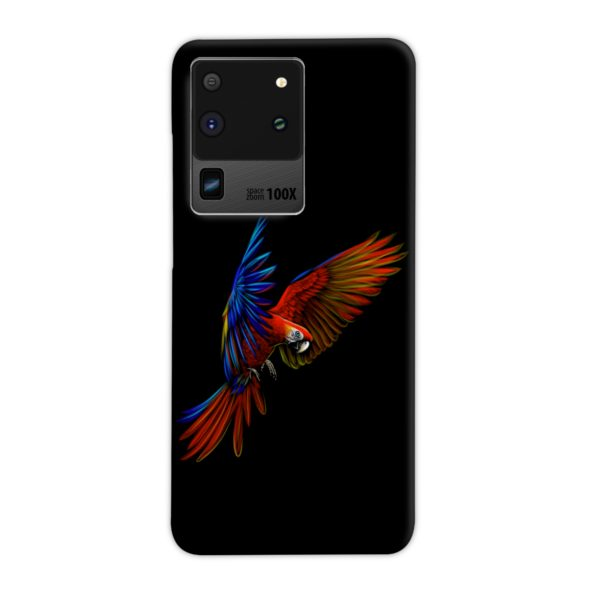 Macaw Parrot Flying Samsung Galaxy S20 Ultra Case
