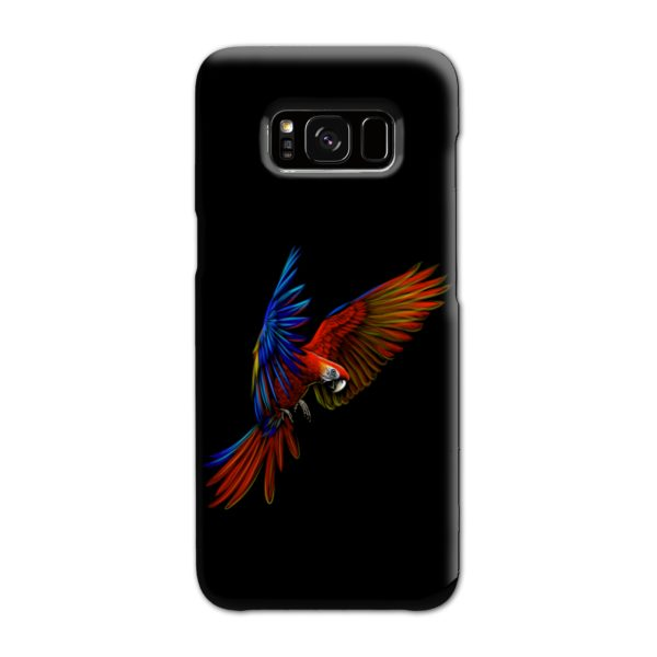 Macaw Parrot Flying Samsung Galaxy S8 Case
