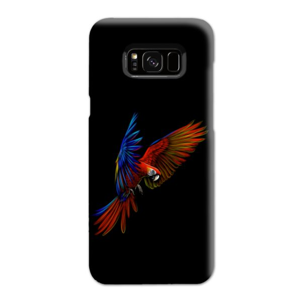 Macaw Parrot Flying Samsung Galaxy S8 Plus Case