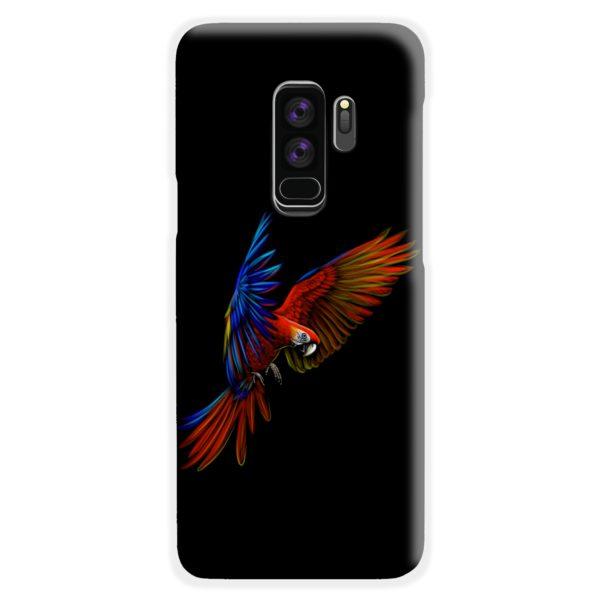 Macaw Parrot Flying Samsung Galaxy S9 Plus Case