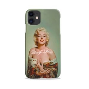 Marilyn Monroe Poster Signature for iPhone 11 Case Cover
