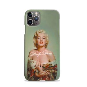 Marilyn Monroe Poster Signature for iPhone 11 Pro Case