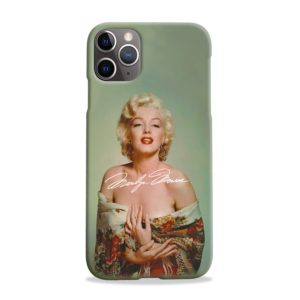 Marilyn Monroe Poster Signature for iPhone 11 Pro Max Case