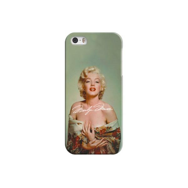 Marilyn Monroe Poster Signature for iPhone 5 Case Cover