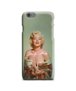Marilyn Monroe Poster Signature for iPhone 6 Case Cover