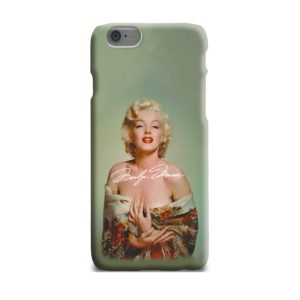 Marilyn Monroe Poster Signature for iPhone 6 Plus Case Cover